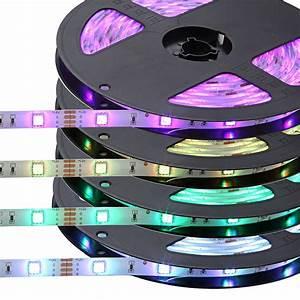 Led Streifen Farbwechsel : 24w rgb led streifen fernbedienung lichtband farbwechsel stripe dimmbar l nge 5m ebay ~ Orissabook.com Haus und Dekorationen
