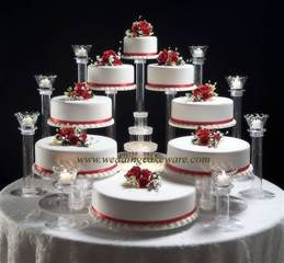 wedding cake plates 8 tier cascading wedding cake stand stands 8 tier candle stand set ebay