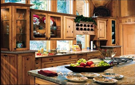 Handmade Rustic Cozy Kitchen By Dewils Custom Cabinetry