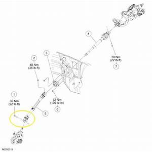 F150 Replace Lower Steering Shaft
