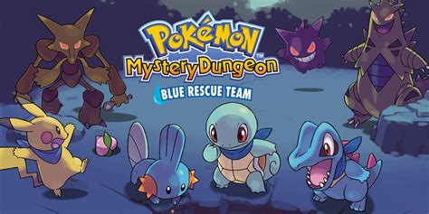Pokmon Mystery Dungeon Blue Rescue Team Nintendo Ds