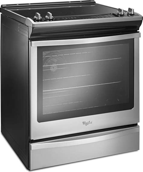 weehfs whirlpool    electric range stainless steel
