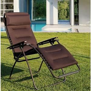 Fauteuil De Jardin Relax : fauteuil relax de jardin tout confort lafuma futura mon ~ Dailycaller-alerts.com Idées de Décoration