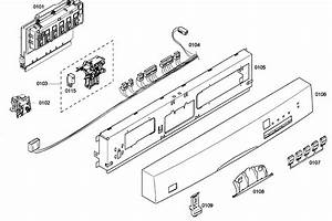 Wiring Diagram  34 Bosch Dishwasher Parts Diagram