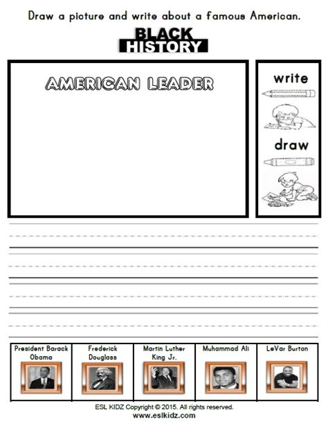 black history month activities games  worksheets