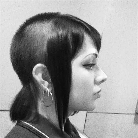 chelsefeather cut skinhead girl anti racist