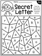 Worksheets Alphabet Secret Letter Letters Hidden Preschool Kindergarten Activities Printable Learning Abc Teacherspayteachers Recognition Preschoolers Teaching Identification Number Numbers Distance sketch template