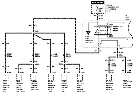 86 Ford Tauru Wiring Diagram by I A 1996 Ford Taurus And The Power Door Locks Stopped