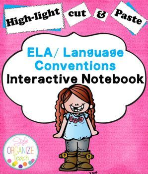 ela conventions interactive notebook