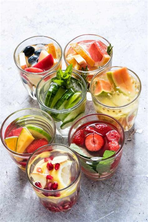 easy infused water recipes gluten  vegan  carb