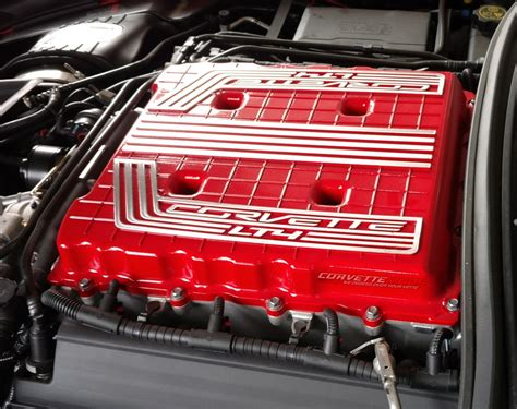 corvette   custom painted supercharger cover