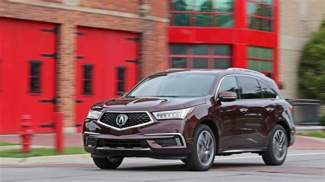 roadtest  acura mdx sh awd safety rating towing
