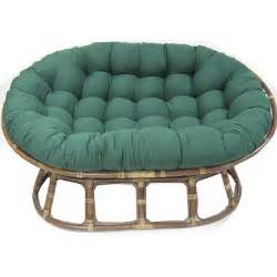blazing needles oversize double papasan chair cushion