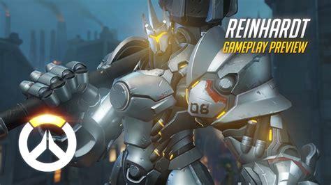Overwatch Reinhardt Gameplay Preview Mentalmars
