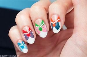 Sailor Moon nail art | Do Want Makeup