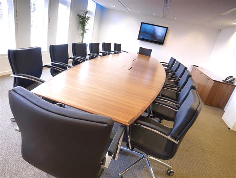office table and chairs executive office furniture from stock boardroom