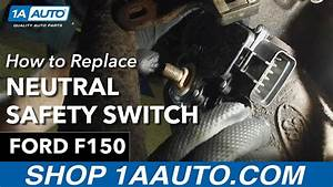 How To Replace Install Neutral Safety Switch 1997