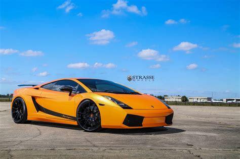 Arancio Borealis Lamborghini Gallardo Superleggera With