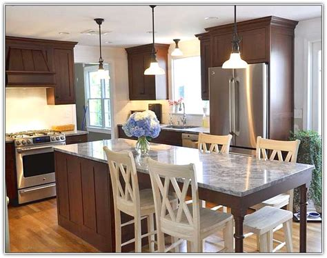 narrow kitchen islands with seating narrow kitchen island table home design ideas 7065