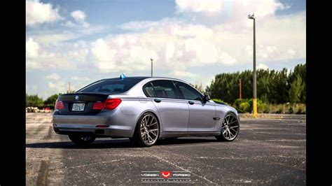 bmw f01 tuning dia show tuning 22 zoll vossen wheels vps 306 bmw 7er f01