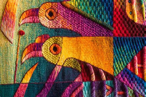 tapestry detail size cm  cm handwoven peruvian