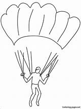 Coloring Skydiving Pages Parachuting Printable Getcolorings Print Various Enjoy Games Sports sketch template