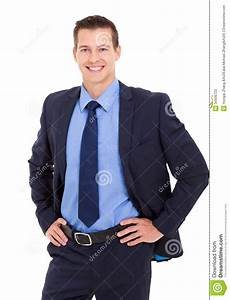 Businessman Hands Hip Stock s Image