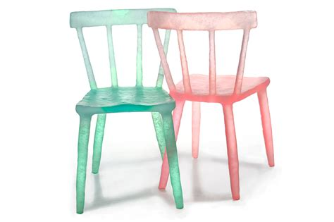 markel s colored recycled chairs inject a