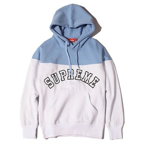 where can i buy supreme clothing supreme quot logo contrast quot hoodies collection available at