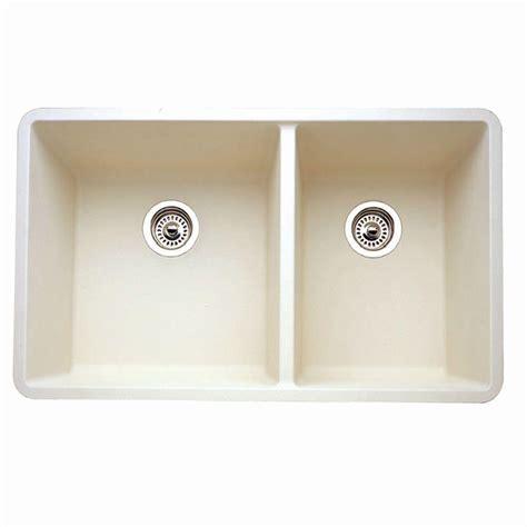 blanco composite kitchen sinks blanco precis 1 3 4 undermount granite composite 33x18x9 5 4775