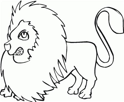 Adult Coloring Lion Coloring Pages