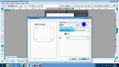 Template Maker Template Maker Box E Silhouette Studio De Em Portugu 234 S
