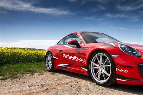 2017 Porsche 911 Carrera S Tuned To 478 Hp By Mcchip Dkr