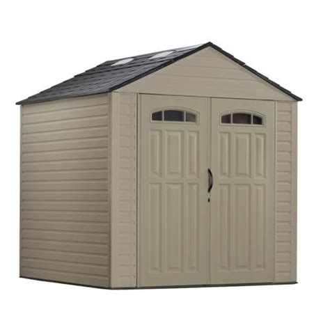 Roughneck 7x7 Shed by Context 7x7 Rubbermaid Storage Shed Drawing Plan