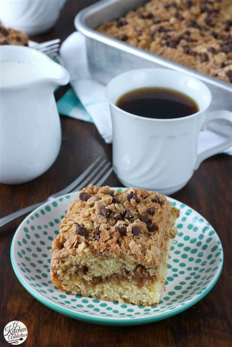 Like a shot and chaser in one. Peanut Butter Crumble Coffee Cake - A Kitchen Addiction