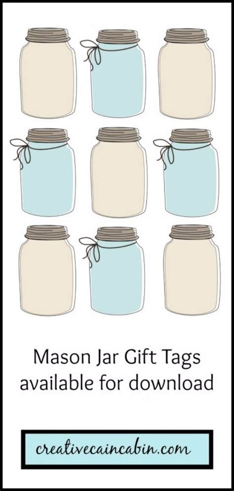 printables  templates  mason jars