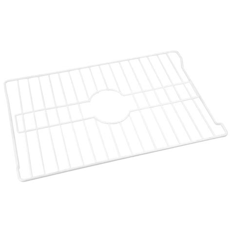 sink protector home depot home basics sink protector in white sp44714 the home depot
