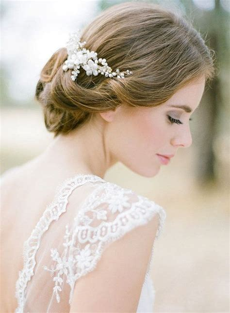 vintage wedding hairstyles chic vintage bridal hair curl