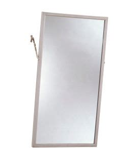 Tilting Bathroom Mirror by Bobrick B 294 Tilting Bathroom Mirror With Stainless Steel