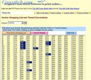 Thread Conversion Anchor Dmc Soie D Alger