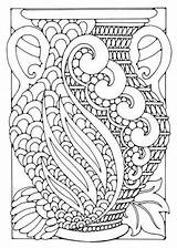 Coloring Pages Adult Deco Adults Vase Printable Flower Patterns Colouring Simple Books Flowers Info Geometric Sheets Grown Ups Everfreecoloring Pattern sketch template