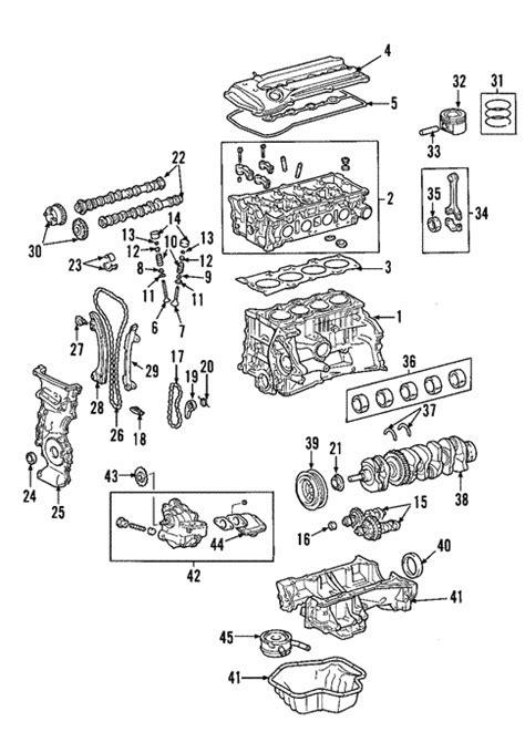 2006 Toyotum Rav4 Engine Diagram by Genuine Oem Engine Parts For 2004 Toyota Rav4 Base
