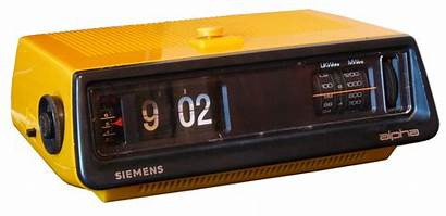 Siemens Alpha Radio Appareil 1970 Electromecanique Reveil