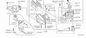 Nissan Maxima Engine Air Intake Resonator  Cleaner