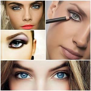 Augen Make Up Blaue Augen Fr Einen Unwiderstehlichen Blick
