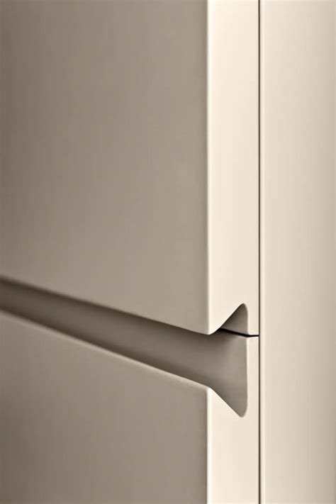 kitchen cabinets no handles mobile da soggiorno con cassetti senza maniglie idfdesign 6249