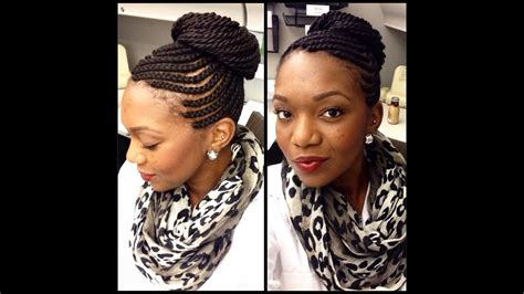 protective styles cornrows  senegalese twists youtube
