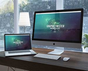 Free Workspace Mockup Design Templates CSS Author