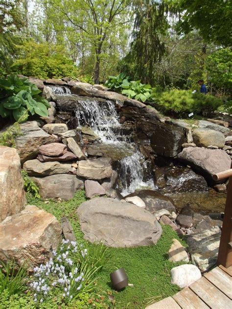 waterfalls backyard would like a waterfall in my backyard outdoors pinterest