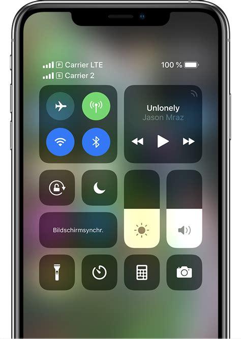 dual sim funktion mit einer esim verwenden apple support